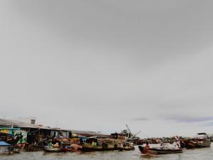 Mercato galleggiante di Can Tho