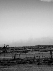 Pozzo di estrazione del petrolio nel Chubut