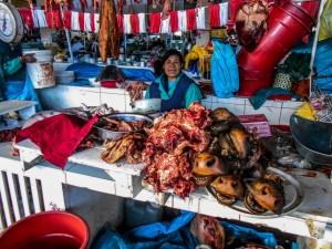 Central market in Cuzco