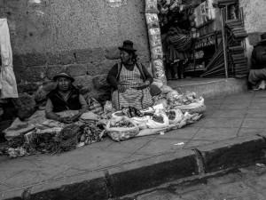 Open market in Cuzco