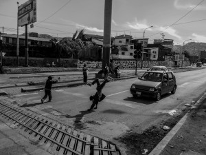 Kids asking for money in the suburbs of Cuzco